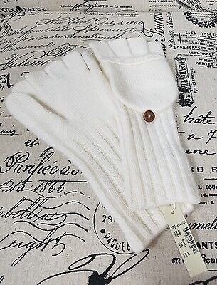 Madewell Convertible Ribbed Cold Weather Gloves One Size New