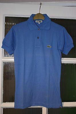 Chemise lacoste mens vintage s s skinny polo shirt size for Lacoste size 4 polo shirt