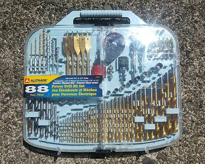 88-piece Power Drill Bit Set