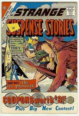 Strange Suspense Stories #53 (Charlton 1961, vf- 7.5) Ditko art. Guide: $100/£75
