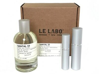Le Labo - Santal 33 Edp (Travel Size 6Ml,10Ml,15Ml,30Ml) Free Shipping Usa