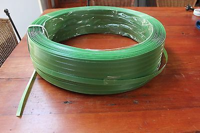 packaging strapping,packing strap green 15mm 500mtrs 15 rolls available.