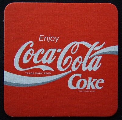 Enjoy Coca-Cola Coke Coaster (B266)