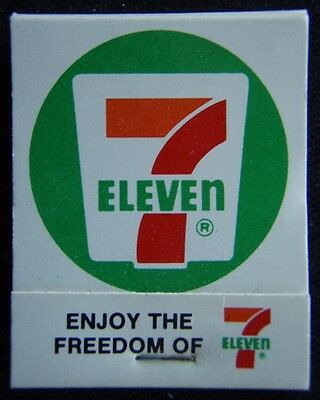 7 Eleven Enjoy The Freedom Of Don't Drink And Drive Turn Off .05 Matchbook (Mk5)