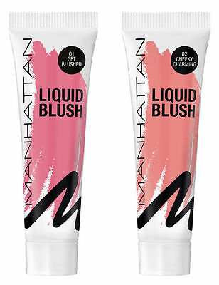 Manhattan Liquid Blush Tono 01 Get Blushed  14Ml