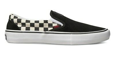 Vans - X Thrasher Slip On Pro Mens Shoes Black/Checkerboard