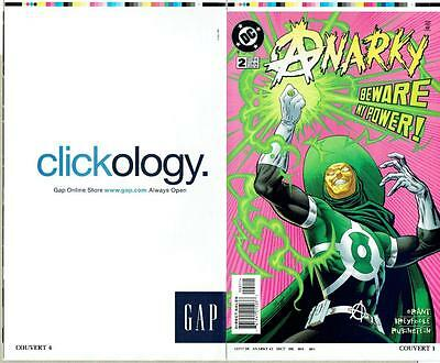 Anarky #2 Proof Cover Production Art