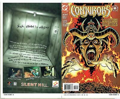 Conjurors #3 Of 3 (1999) Proof Cover Production Art