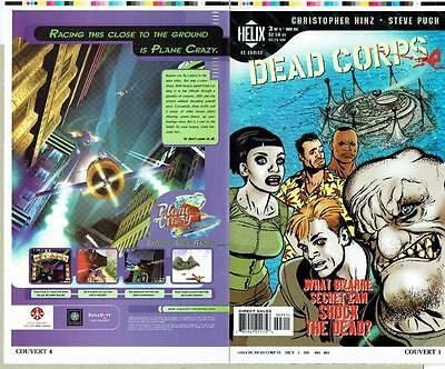 Dead Corps #3 Proof Cover Production Art