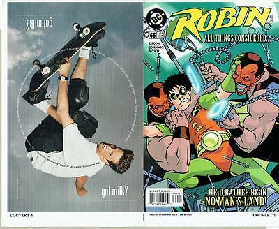 Robin #66 Proof Cover Production Art