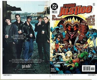 Young Justice #10 Proof Cover Production Art