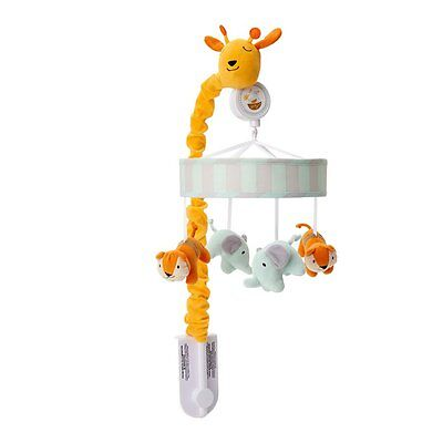 Happi By Dena Happi Jungle Musical Mobile By Lambs & Ivy for Baby Nursery Cot