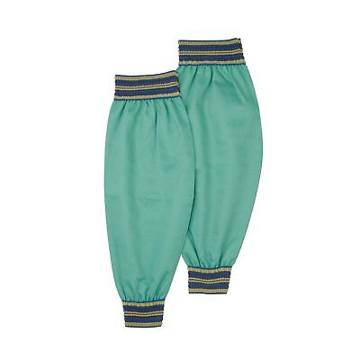 """IRONCAT 7070 18 Irontex FR Cotton Sleeves with Wide Elastic, 18"""", Green Pack of"""