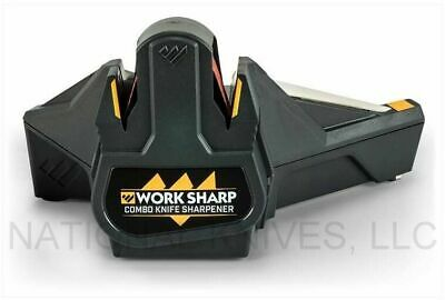 Work Sharp Combo Knife Sharpener - Electric and Manual - WSCMB - Auth. Dealer