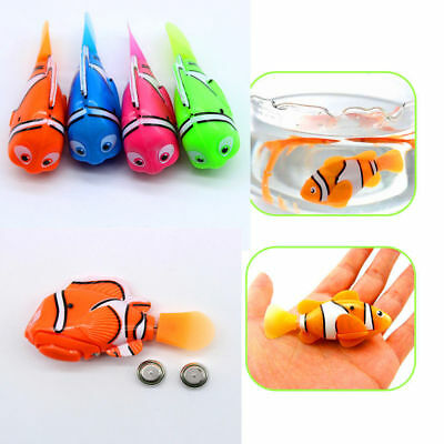 8er Swim Robofish Activated Battery Powered Robo Fish Toy Fish Robotic Kids Pet