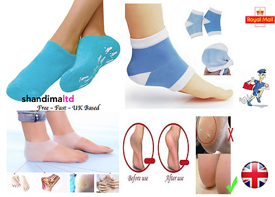 Moisturising Socks Thera-gel for Repair To Cracked Heel Moisture Rich Therapy