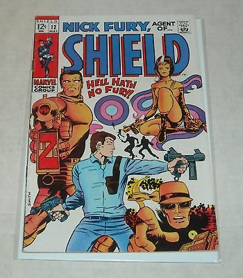 KEY 1969 Marvel NICK FURY, AGENT of SHIELD #12 BARRY SMITH art HYDRA BELOW GUIDE