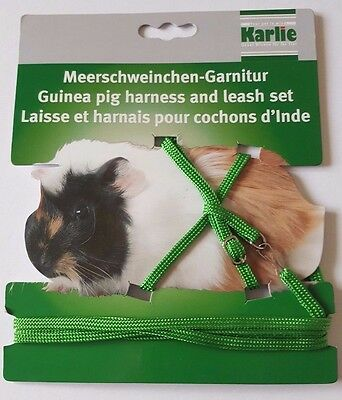 Karlie Nylon Guinea Pig Harness with Lead Small Animal Exercise