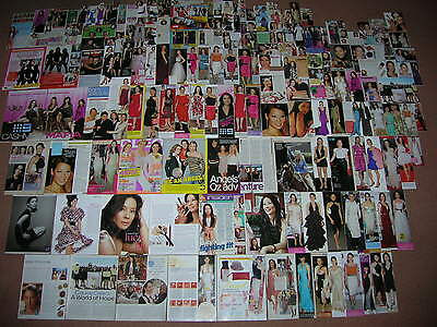 240+ LUCY LIU Magazine Clippings