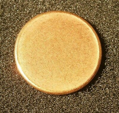 "Blank Penny Planchet, Mint Error, 2.5 Grams, ""Combined Shipping"""