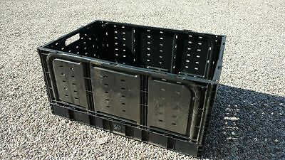 IFCO Brand 28N Collapsable Folding Crates - Pack, Transport, Store - Lot of 4