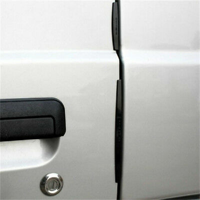 8x Car Door Edge Guards Trim Molding Strip Anti-rub Scratch Protector P&L
