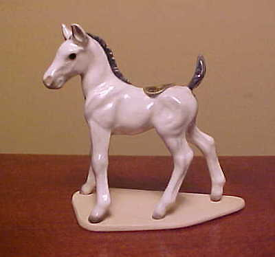 "RETIRED Hagen-Renaker Specialty #3310 Mustang Colt ""Feather"" - Ceramic Figurine"