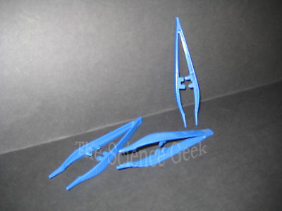 Plastic Tweezers, 125mm, corrosion resistant, Non-magnetic, Light Weight