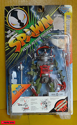 "SPAWN - Serie 7 - No-Body Nr. 008/100 - 7"" (ca.18cm) - Mc Farlane OVP - RARE"