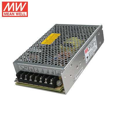 MW Enclosed Industrial Standard Switchmode Power Supply NES-100-24