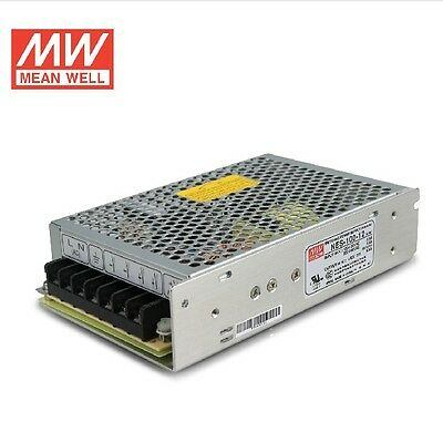 MW Enclosed Industrial Standard Switchmode Power Supply NES-100-12