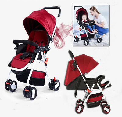 Baby Toddler Pram Umbrella Stroller Jogger Buggy Kids Pushchairs Lightweight