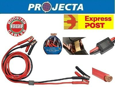 Projecta Sb500Sp 500Amp Surge Protected Jump Start Booster Battery Jumper Leads