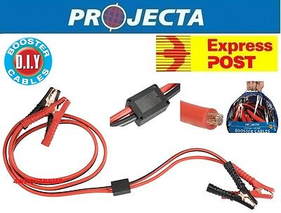 Projecta Sb400Sp 400Amp Surge Protected Jump Start Booster Battery Jumper Leads