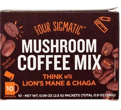 Four Sigmatic Mushroom Coffee Mix Think With Lions Mane and Chaga Aus Shipping