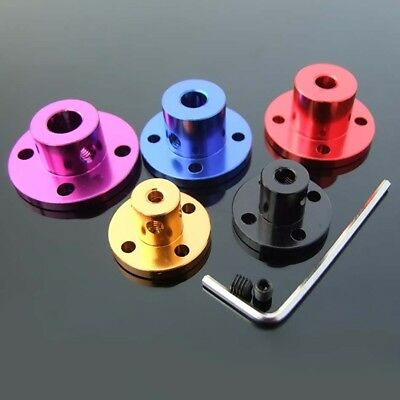 5 Color Aluminum Alloy Flange Coupling Motor Bearing Seat Guide Shaft Coupler