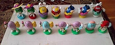 M&M Candy Toppers - Lot of 14 - Easter theme