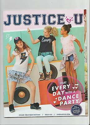 Justice Clothes Catalog Magazine July 2017 Issue # 32