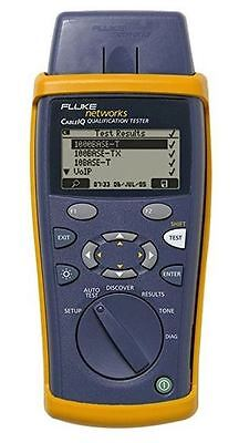 FLUKE CIQ 100 Cabling Qualification Tester with Wiremap Adapter - NEW