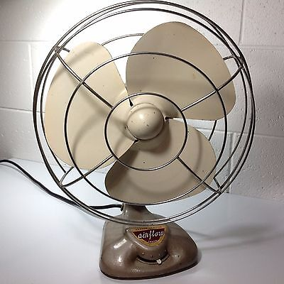 Vintage Airflow Oscillating Fan