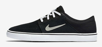 Nike SB - Portmore Mens Shoes Black/White/Grey