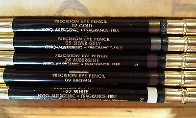 BOOTS NO. 7 PRECISION EYE PENCIL with SMUDGER - SEE DESCRIPTION FOR COLOURS