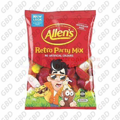 ALLENS RETRO PARTY MIX BAG 190G (x12)