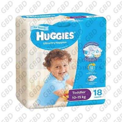 HUGGIES TODDLER BOY 18'S (x1)