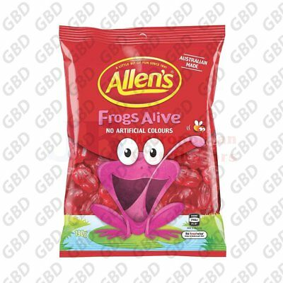 ALLENS FROGS ALIVE BAG 190G (x12)