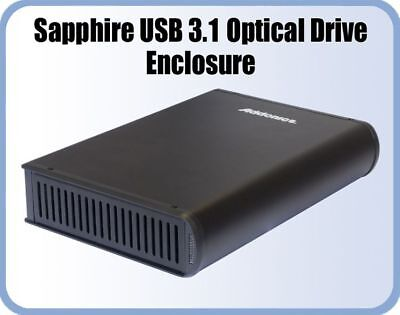Addonics SU31C Sapphire USB3.1 Optical Drive Enclosure