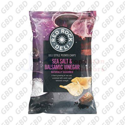 RED ROCK SALT & VINEGAR 45G (x18)