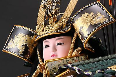 Beautiful Japanese Samurai Doll   -The Little Shogun- 50cm
