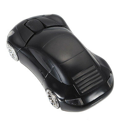 1pcs*Wireless Mouse Car Shaped Game 2.4Ghz USB Optical Mice for PC Computer