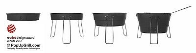 Relags - Pop Up Grill Ø 28 cm Camping Outdoor